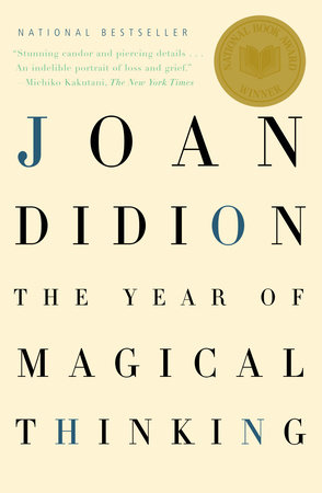 The cover of the book The Year of Magical Thinking