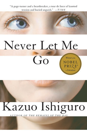 The cover of the book Never Let Me Go