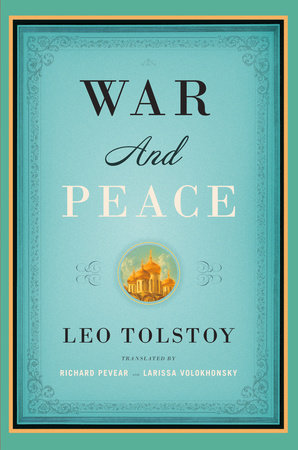 The cover of the book War and Peace