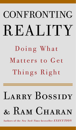 Confronting Reality by Larry Bossidy and Ram Charan