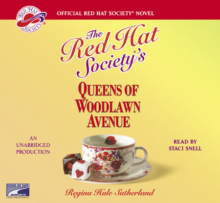 The Red Hat Society's Queens of Woodlawn Avenue by Regina Hale Sutherland