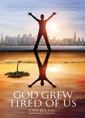 The cover of the book God Grew Tired Of Us