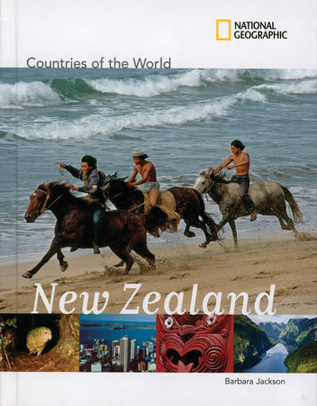 National Geographic Countries of the World: New Zealand by Barbara Jackson