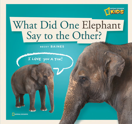ZigZag: What Did One Elephant Say to the Other? by Becky Baines