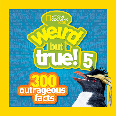 Weird but True! 5 by National Geographic Kids