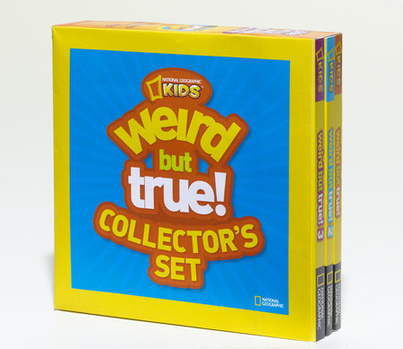 Weird But True Collector's Set (Boxed Set) by National Geographic Kids