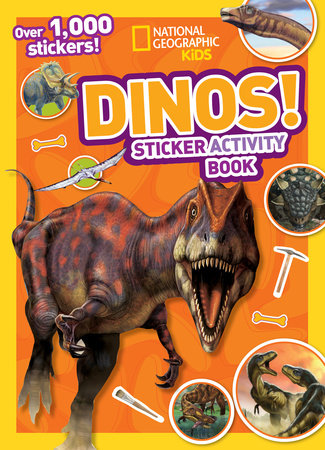 National Geographic Kids Dinos Sticker Activity Book by National Geographic Kids