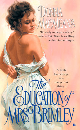 The Education of Mrs. Brimley by Donna MacMeans