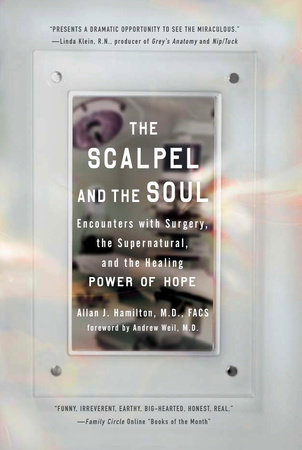 The Scalpel and the Soul by Allan J. Hamilton M.D., FACS