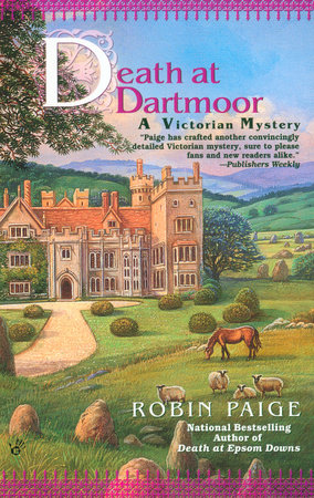 Death at Dartmoor by Robin Paige