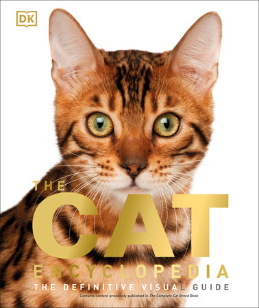 The cover of the book The Cat Encyclopedia
