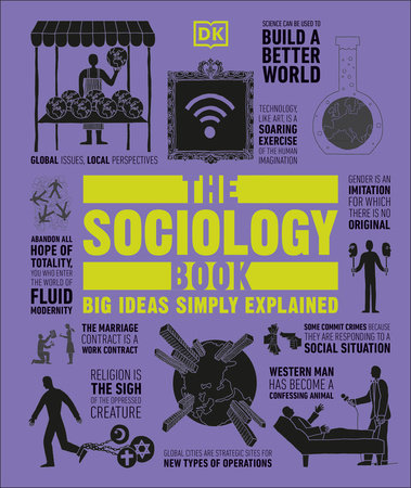 The cover of the book The Sociology Book