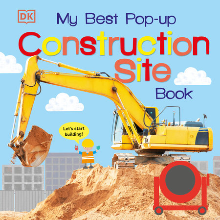 My Best Pop-up Construction Site Book