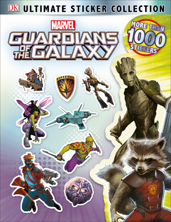 Ultimate Sticker Collection: Marvel's Guardians of the Galaxy by DK