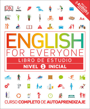 English for Everyone: nivel 1 inicial, libro de estudio by DK