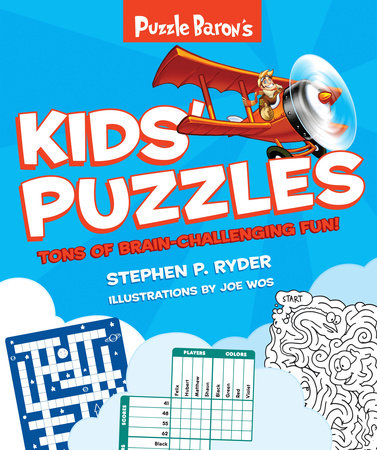 Puzzle Baron's Kids' Puzzles by Puzzle Baron