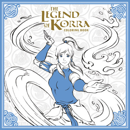 the legend of korra coloring book by nickelodeon