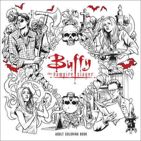 buffy the vampire slayer adult coloring book by joss whedon