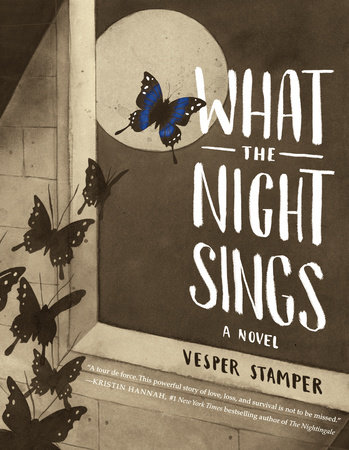 The cover of the book What the Night Sings