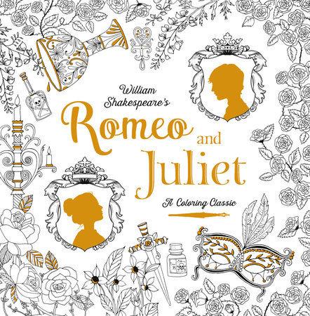 romeo and juliet a coloring classic by william shakespeare