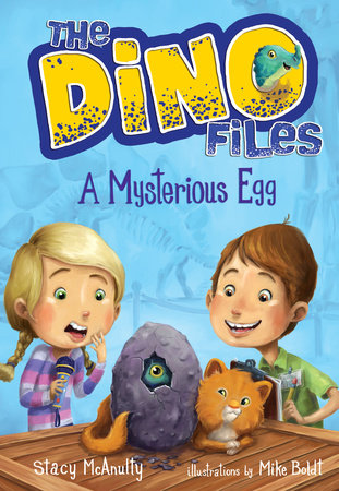 The Dino Files #1: A Mysterious Egg