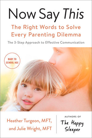 Now Say This by Heather Turgeon MFT and Julie Wright MFT