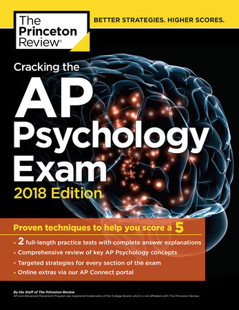 Cracking the AP Psychology Exam, 2018 Edition by Princeton Review