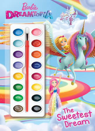 The Sweetest Dream (Barbie Dreamtopia) by Golden Books