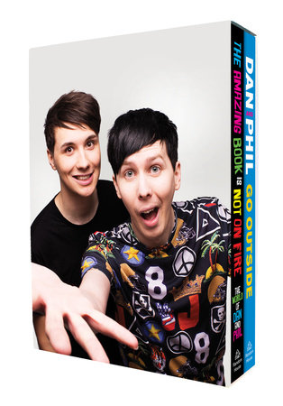 Dan and Phil Boxed Set by Dan Howell and Phil Lester