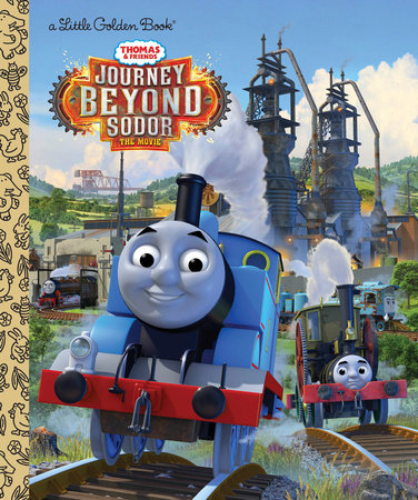Journey Beyond Sodor (Thomas & Friends) by Golden Books