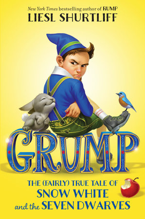 The cover of the book Grump: The (Fairly) True Tale of Snow White and the Seven Dwarves