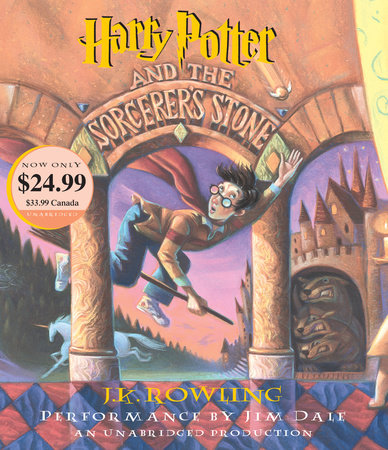 The cover of the book Harry Potter and the Sorcerer's Stone