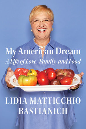 The cover of the book My American Dream