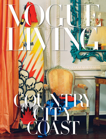 The cover of the book Vogue Living: Country, City, Coast