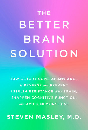 The cover of the book The Better Brain Solution