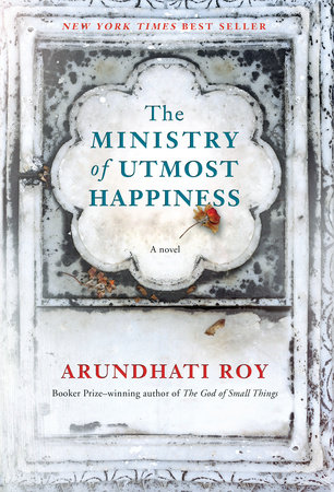 The cover of the book The Ministry of Utmost Happiness