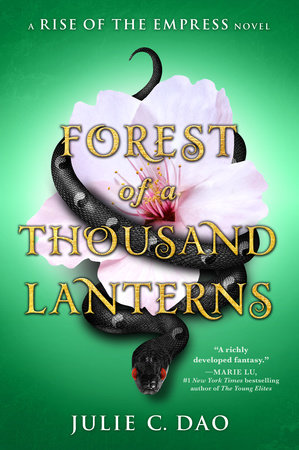 The cover of the book Forest of a Thousand Lanterns