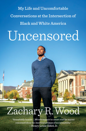 The cover of the book Uncensored
