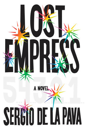 The cover of the book Lost Empress