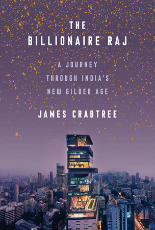 The cover of the book The Billionaire Raj