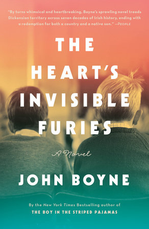 The cover of the book The Heart's Invisible Furies