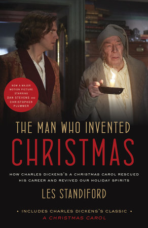 The cover of the book The Man Who Invented Christmas