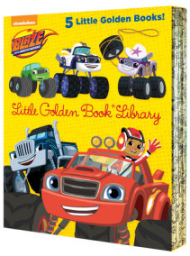 Blaze and the Monster Machines Little Golden Book Library (Blaze and the Monster Machines)