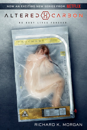 The cover of the book Altered Carbon