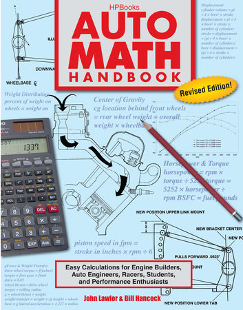 Auto Math Handbook HP1554 by John Lawlor and William Hancock