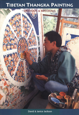 Tibetan Thangka Painting by David Jackson and Janice Jackson