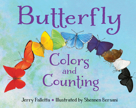 Butterfly Colors and Counting by Jerry Pallotta