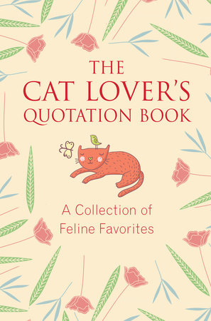 The cover of the book The Cat Lover's Quotation Book