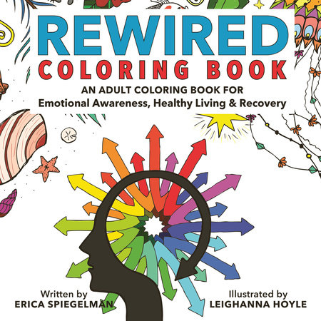Rewired Adult Coloring Book by Erica Spiegelman