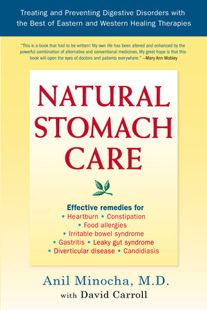 Natural Stomach Care by Anil Minocha